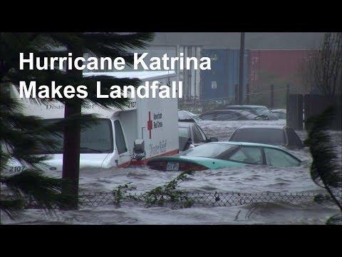 Hurricane Katrina Video - All hell breaks loose as Hurricane Katrina makes landfall
