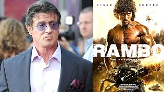 Sylvester Stallone's Shocking INSULT To Tiger Shroff's RAMBO Poster