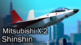 Mitsubishi X-2 Shinshin - future Japanese 5 generation fighter
