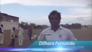 Buddy cricket with Dilhara