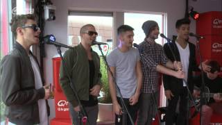 The Wanted - Walks Like Rihanna // live bij Q-music
