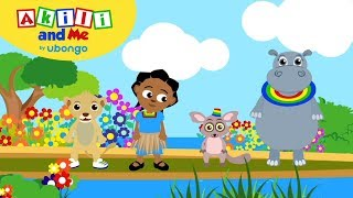 Learn New Swahili Words | Akili and Me Dance Compilation | Cartoons for Preschoolers