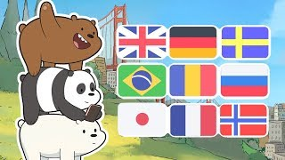 We Bare Bears - Intro In 26 Languages
