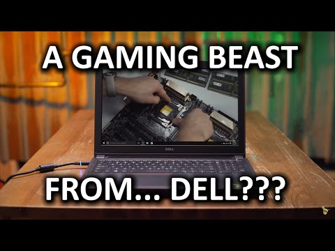 Killer 800 Gaming Laptop from DELL Inspiron 7559