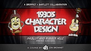 1930's Character Design: Illustrate Iconic Characters