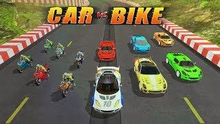 CAR vs BIKE RACING #Android GamePlay #Free Games Download #Racing Games Download #Games For Kids