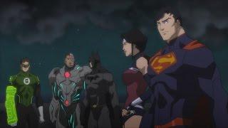 Liga Da Justiça Se Reúne Pela Primeira Vez