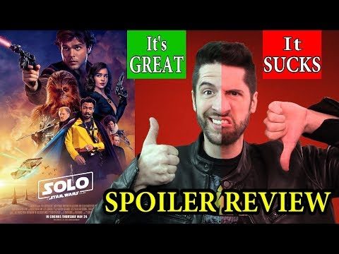 Xxx Mp4 Solo A Star Wars Story The Perfect SPOILER Review For Everybody 3gp Sex