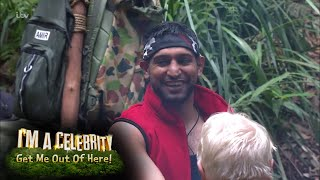 The Campmates React to Amir Khan's Bushtucker Trial! | I'm A Celebrity…Get Me Out Of Here!