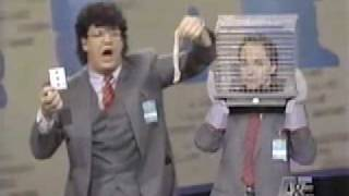 Penn and Teller on Comic Relief 1989