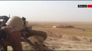 Sniper shootout: US Marines fighting alongside Ezidi forces against ISIS
