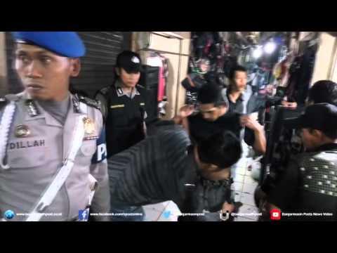 Polsek Banjarmasin Tengah 'Obok-obok' Pasar Sentra Antasari