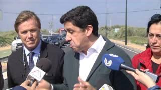 Inaugurada la carretera de Punta del Moral tras décadas de espera