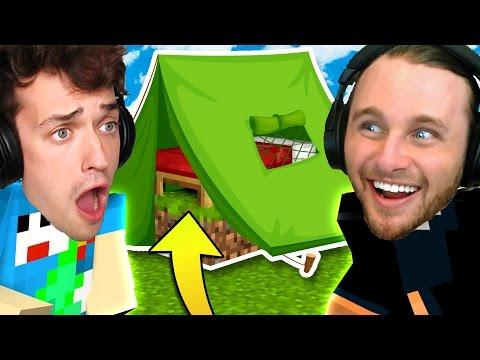 CAMPING BED WARS CHALLENGE | Minecraft Bed Wars