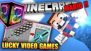 THỬ ĐẬP LUCKY VIDEO GAMES (LUCKY VIP !!) - Cây Kiếm 21 Tỉ Sức Tấn Công !! | Lucky BLock Mod