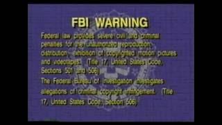 FBI Warning+Interpol Warning