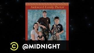 Maria Bamford, Jackie Kashian, Tommy Johnagin - Awkward Family Photos - @midnight w/ Chris Hardwick
