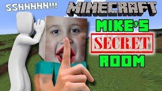 MIKE'S SECRET ROOM in MINECRAFT: Showcase & Tutorial (PC Gameplay | FGTEEV)