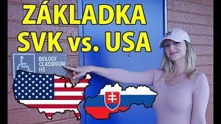ZÁKLADNÍ škola USA - SLOVENSKO   PŘÍBĚH slovenské studentky