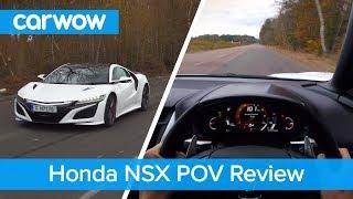 Honda-Acura NSX POV review   Test Drives
