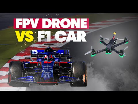 Can An FPV Drone Keep Up With A Formula 1 Car