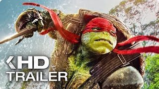 Teenage Mutant Ninja Turtles 2: Out Of The Shadow ALL Trailer & Clips (2016)