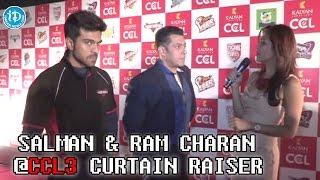 Excited to Perform - Salman Khan @CCL Season 3 Curtain Raiser