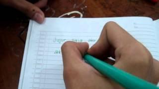 Anderta - Jujur Saja (stop motion lyric)