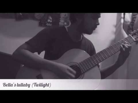 Bella's lullaby - Twilight soundtrack on classical guitar (played by Aniket)