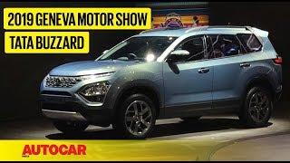 Tata Buzzard (H7X)   First Look Preview   Geneva Motor Show 2019   Autocar India