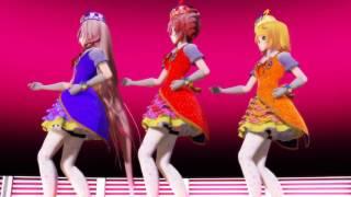 【MMD】Little apple【Kasane Teto,Ia,Kagamine Rin】
