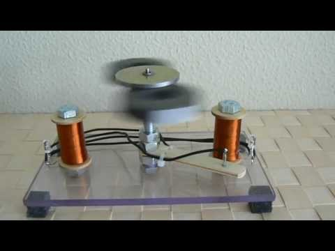 Amazing Magnet Motor Gen Rep. This is not a fake but