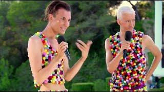 Ottavia & Bradley WTF! Performance | Judges' Houses | The X Factor UK 2016
