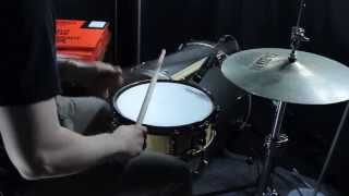 Evans Snare Drum Skin Comparison (7 different types)