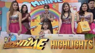 It's Showtime Mini Me 3 Grand Finals: Mini Kim Chiu Lauren Madelaine Cabuguas is the grand winner!