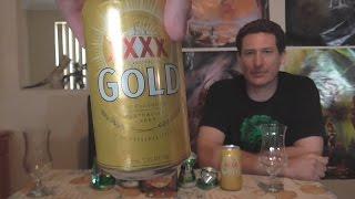 XXXX Gold - XXXX Brewery - Beer O'Clock with Slosh & Buuz #47