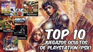 Top 10 | Grandes juegos desconocidos de PlayStation (PSX)