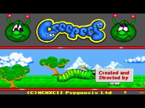 Creepers gameplay (PC Game, 1993)