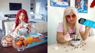 School Morning Routine! *Rich Girl vs Normal Girl*