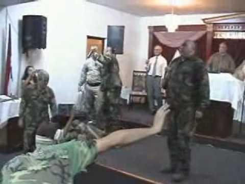 Culto de Guerra Parte 1 Tema No Te Pudras Predica Javier Padilla