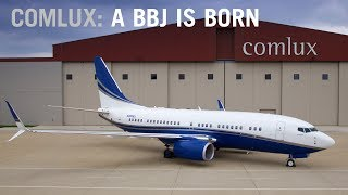 Comlux Completion Brings the Client's Vision to Life – A BBJ is Born