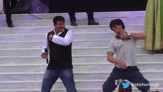 Shahrukh Khan Dancing on Bhojpuri version of Fan song Jabra Fan