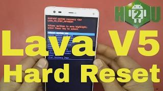 LAVA V5 Hard Reset With Pin or Pattern Unlock [Hindi]