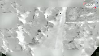 شاهد.. تدمير طائرة إيرانية بدون طيار قرب المخا