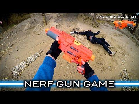 Nerf meets Star Wars Gun Game First Person in 4K