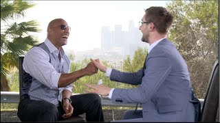 FAST AND FURIOUS 7 interviews - The Rock, Vin Diesel, Statham, Tyrese, Brewster, Emmanuel, Wan