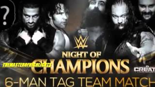 WWE Night of Champions 2015 Highlights HD