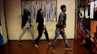 TAXI WALA Supreme Telugu song  Ravi Choreography  