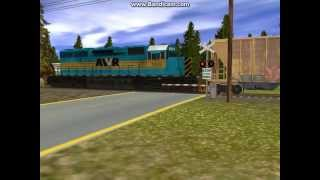 trainz Unstoppable AWVR Movie Train