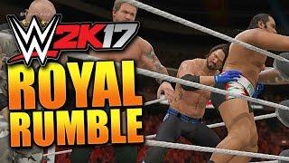 WWE 2K17 ROYAL RUMBLE! 30 Man Royal Rumble Match (WWE 2K17 Gameplay)